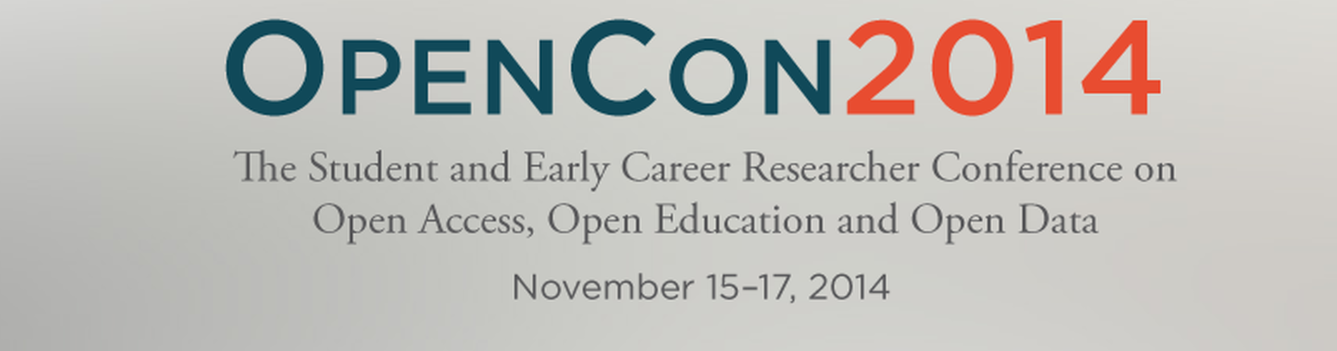OpenCon 2014 : In the heart of Open Science advocacy feature image